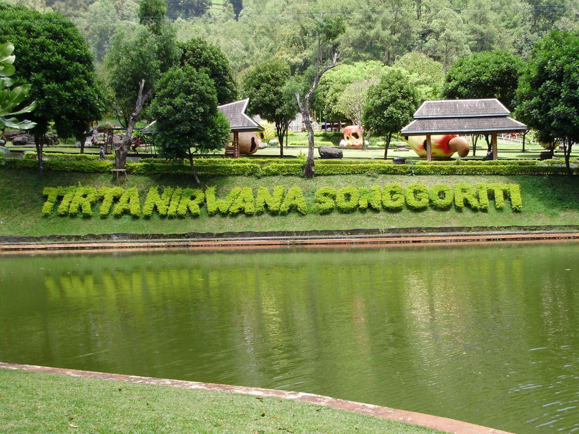 Wisata Songgoriti, Pemandian Air Panas Alami