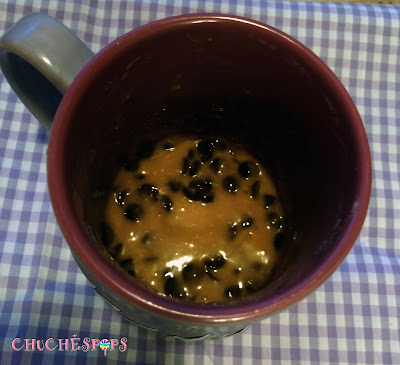 Receta Mug Cake con Chips de Chocolate