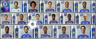 Panini Champions League chelsea 2011/12