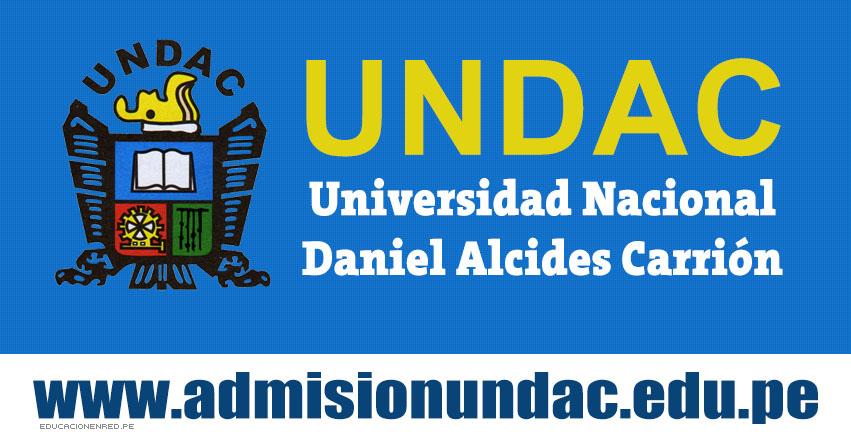 UNDAC: Inscripciones para el CEPRE I-2019 (Inicio Clases 7 Mayo 2018) Universidad Nacional Daniel Alcides Carrión | www.admisionundac.edu.pe | www.undac.edu.pe