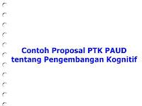 [doc] Contoh Proposal PTK PAUD tentang Kognitif
