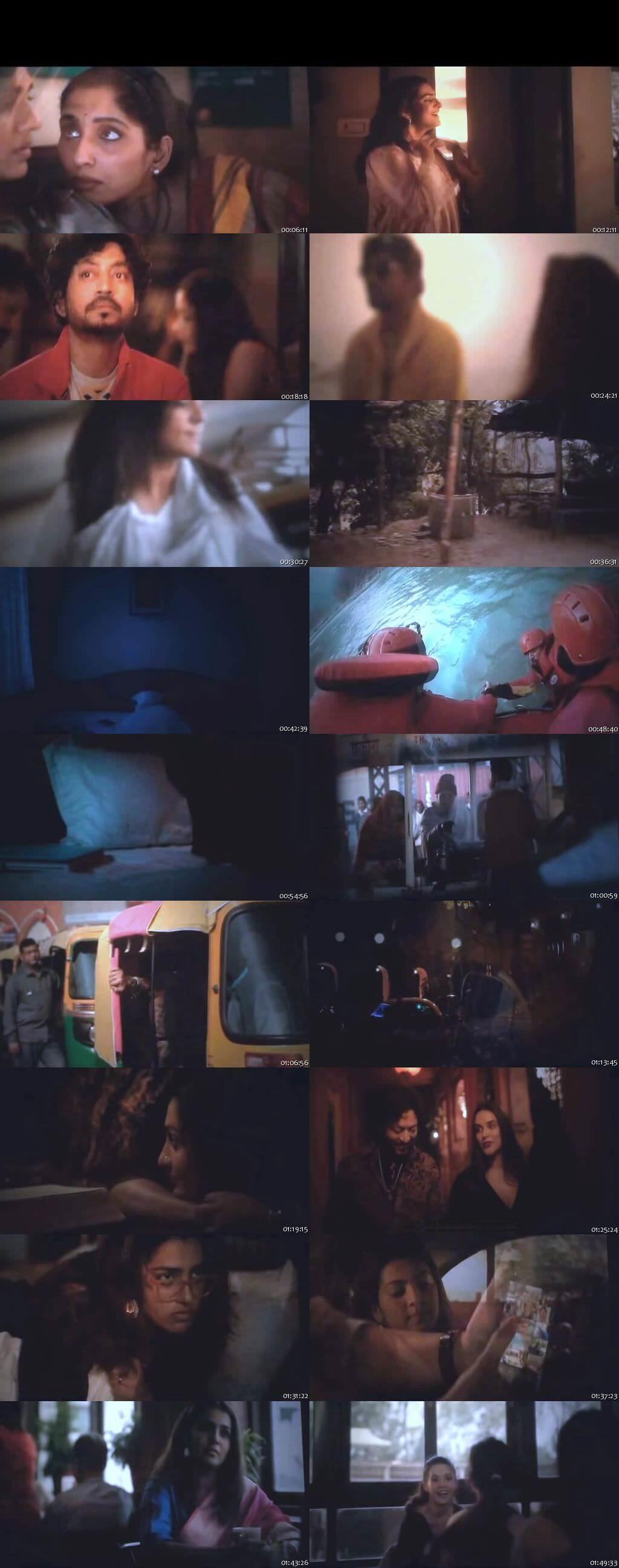 Screen Shot Of Qarib Qarib Singlle 2017 300MB Pdvd Full Hindi Movie Watch Online Free Download