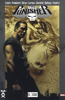 Punisher El Tigre de Ennis y Severin, edita Panini Comics