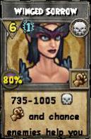 Wizard101 Polaris Level 108 Spells Winged Sorrow