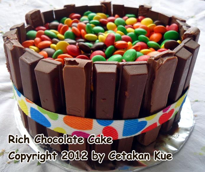 Cara Membuat Hiasan Kue Tart Dari Coklat Blok