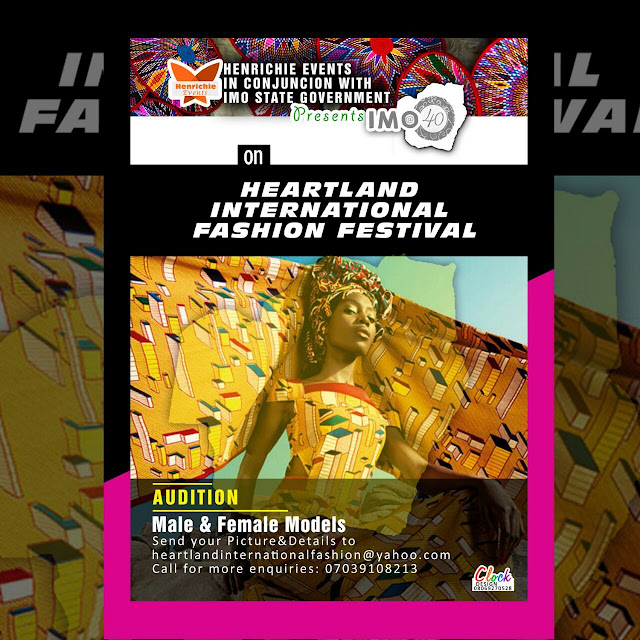 Imo @40 international fashion festival auditions are open [Read details]