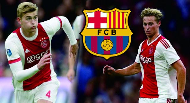 Barcelona Harus Siapkan 2.3 Triliun Untuk Beli De Jong Dan De Ligt