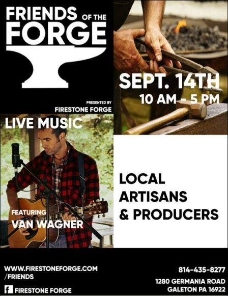9-14 Friends of the Forge, Galeton, PA