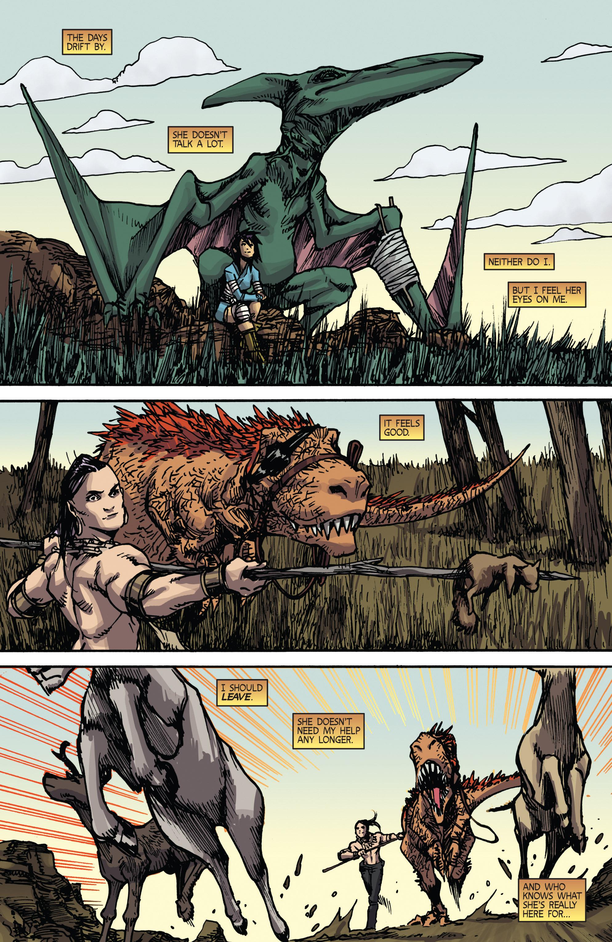Read online Turok: Dinosaur Hunter (2014) comic -  Issue # _TPB 2 - 18