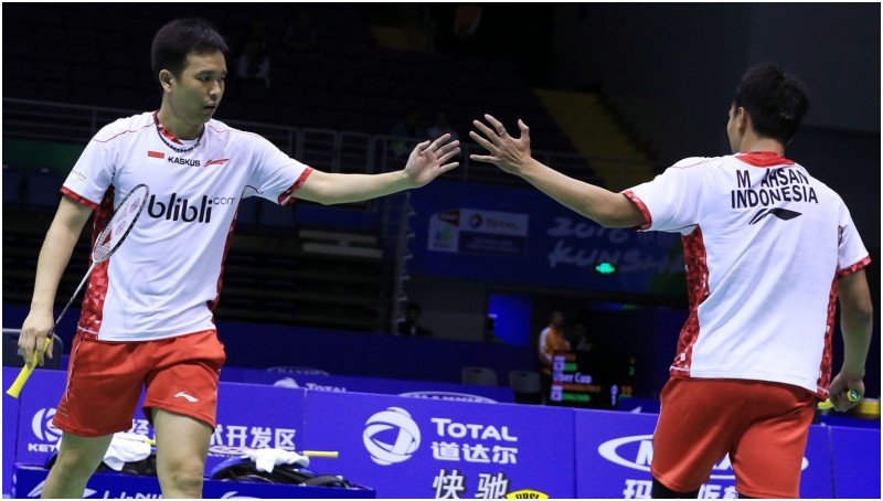 Hendra Setiawan-Mohammad Ahsan, harapan Indonesia di final Thomas Cup 2016
