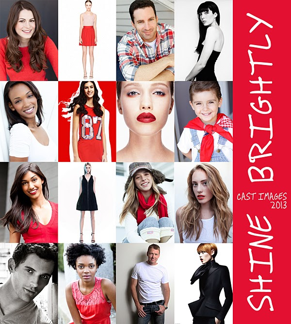 Cast Images - Shine Brightly - Holiday 2013