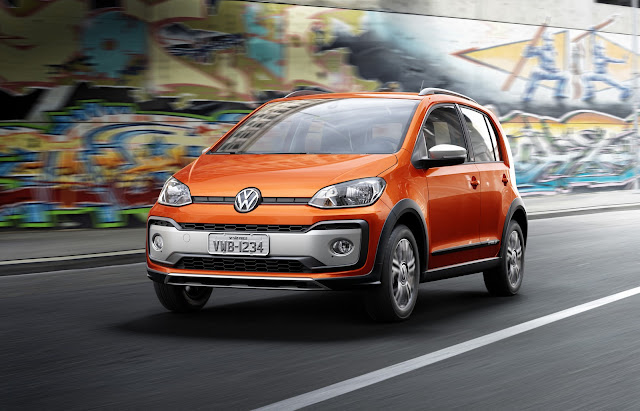 Novo VW Up! Cross Up! TSI 2018