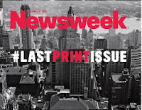 Newsweek #LastPrintIssue? ou plutôt Welcome #NewDigitalLife!