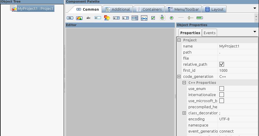 GUI Designer for wxWidgets using wxFormBuilder ~ Dedy Yasriady's Home
