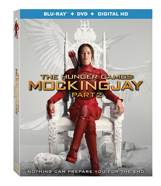 The Mockingjay Part 2 Blu-ray DVD Release March 22