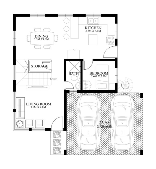 50 IMAGES OF 15 TWO STOREY MODERN HOUSES WITH FLOOR PLANS AND – Floor Plans For A Two Bedroom House