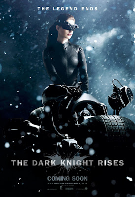 "The Dark Knight Rises ""The Legend Ends"" Character Movie Poster Set - Anne Hathaway as Catwoman"