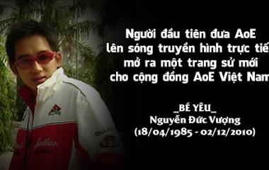 [AoE] AoE Bé Yêu cup: Ngày hội tôn vinh người muôn năm cũ