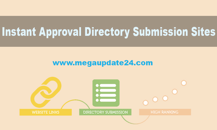 Free Instant Approval Directory Submission Sites List (2019