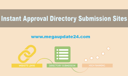 Free Instant Approval Directory Submission Sites List 2017 Updated