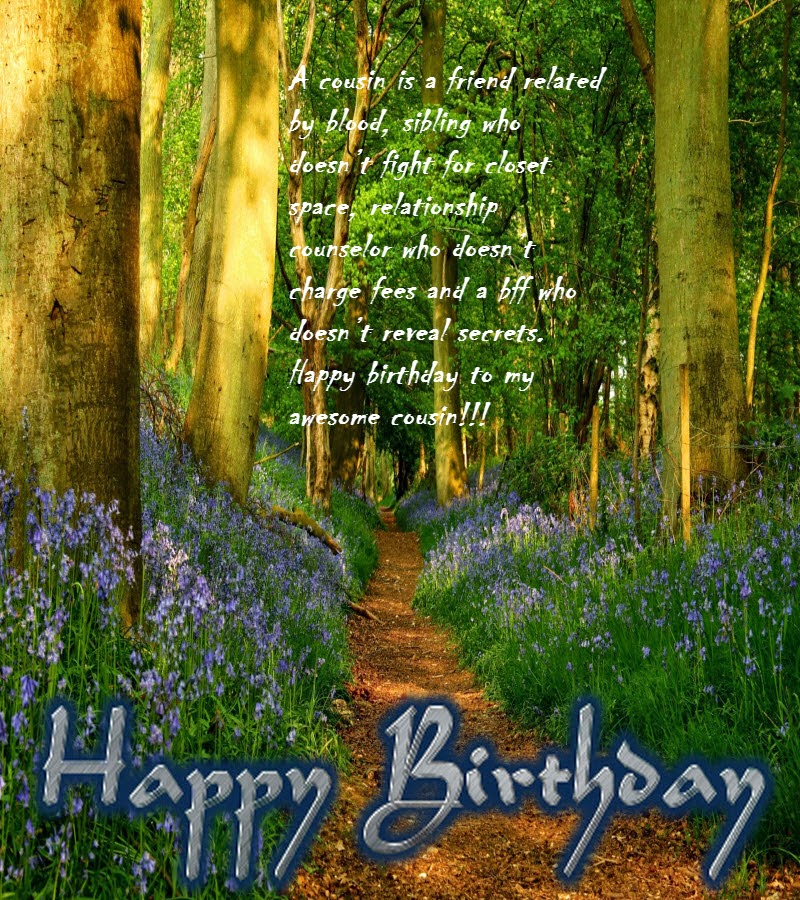 happy birthday wishes for cousin sister birthday message