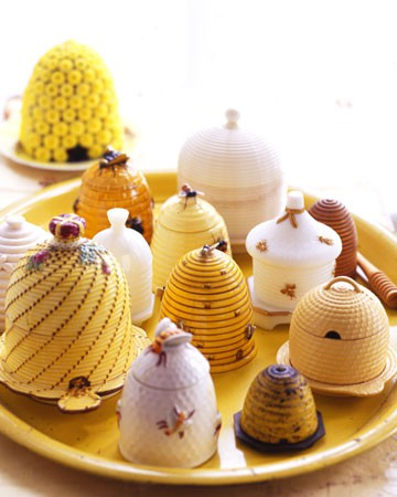 Skeps Are Pretty To Use As Table Decorations