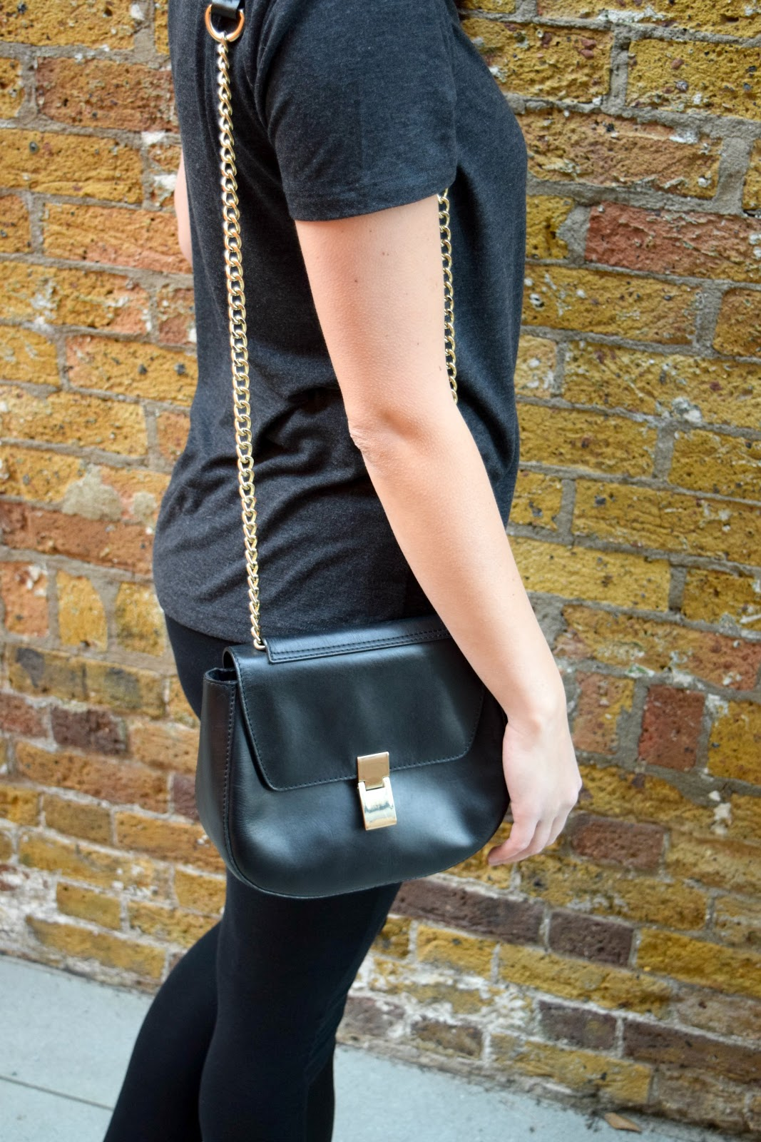 ASOS saddle handbag