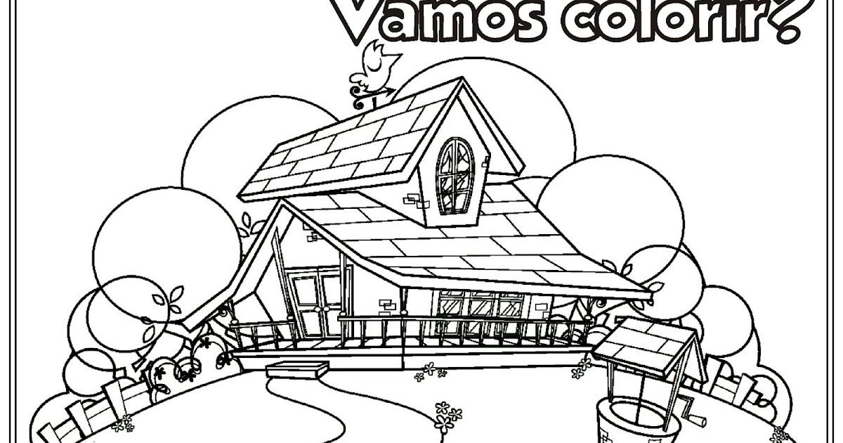 Riscos Para Colorir Gratis Desenho Do Sitio Do Picapau Amarelo