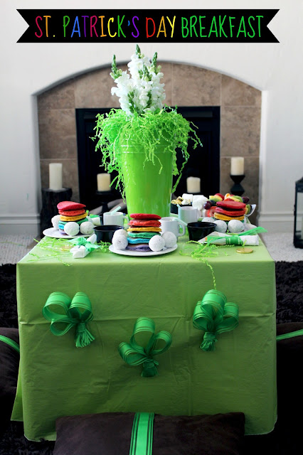 Worth Pinning St Patrick S Day Rainbow Breakfast