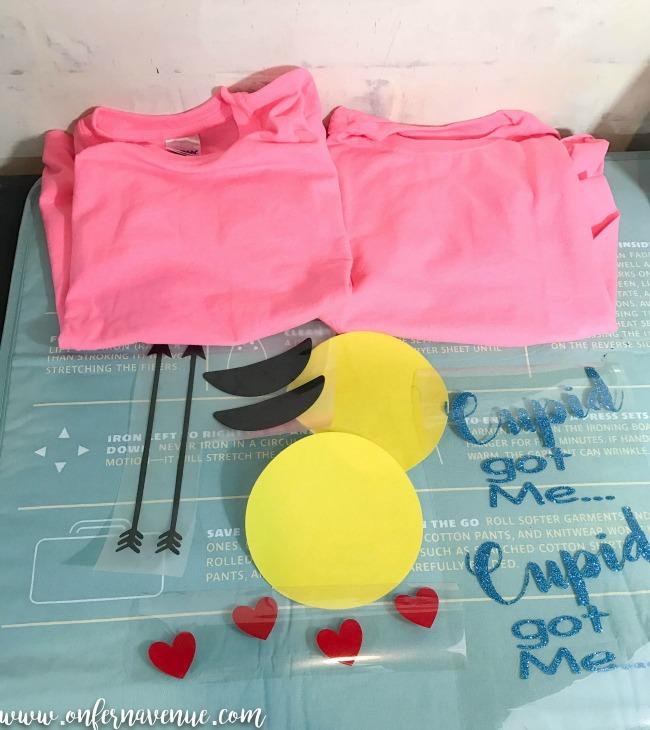 materials for custom shirt