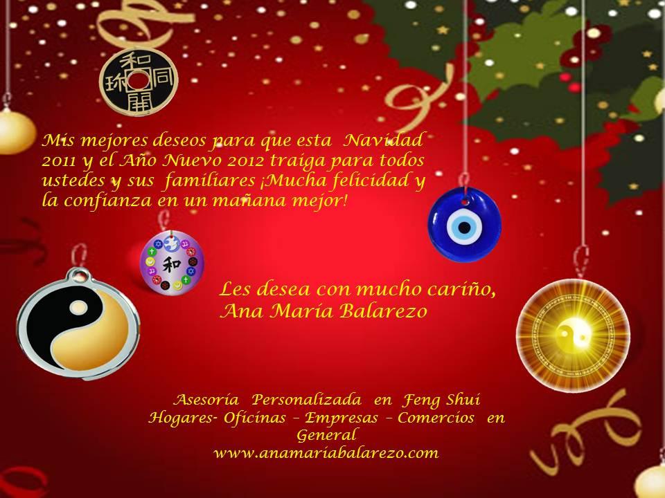 Feng shui ana mar a balarezo feliz navidad a todos mis for Feng shui para todos