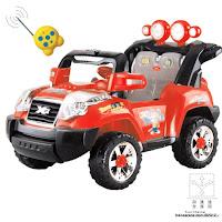 1 Mobil Mainan Aki Elite 008Q Jeep Jumbo Size