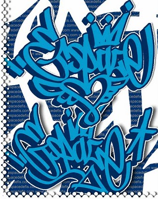 Feri Nur Cahyo: Graffiti Alphabet