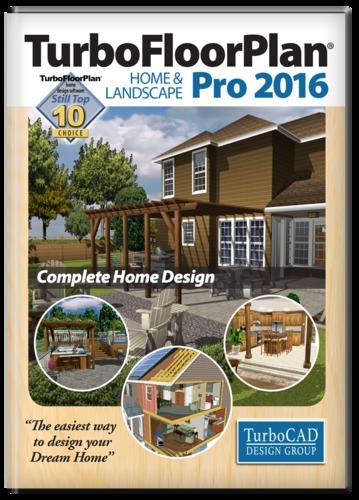 Download turbofloorplan home landscape pro 2016 for Professional home design 7 0