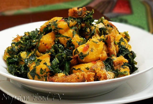 Nigerian Plantain Porridge, plantain recipes, Nigerian food tv, nigerian food recipes