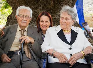 Επίτιμοι ευεργέτες του Δήμου Ζαχάρως - Φιγαλείας οι Γεώργιος Δαίκος και Μαρίκα Λαναρά