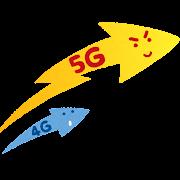 5Gのイラスト