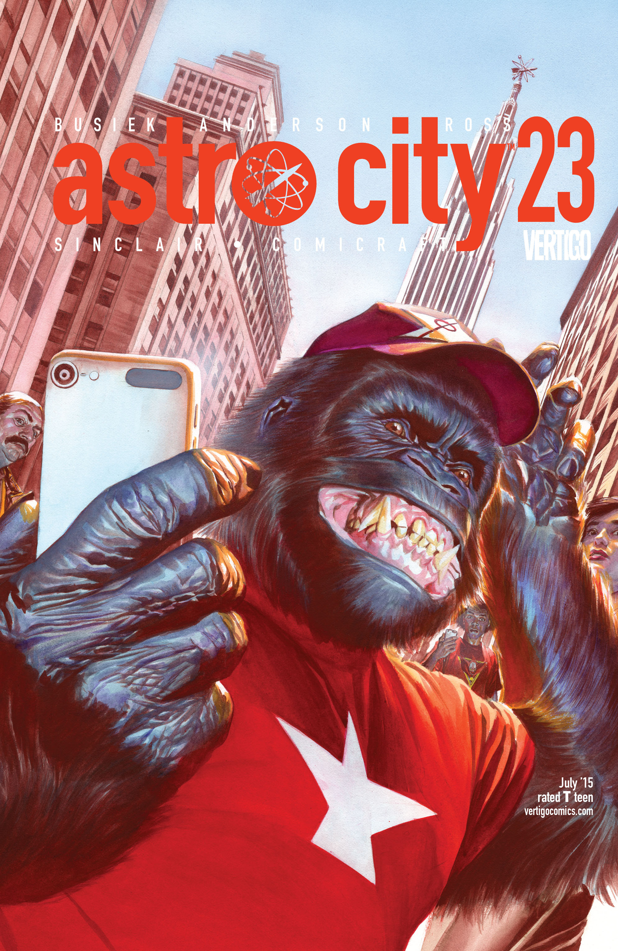 Read online Astro City comic -  Issue #23 - 1