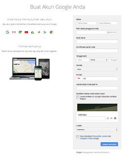 Daftar Gmail Indonesia Terbaru