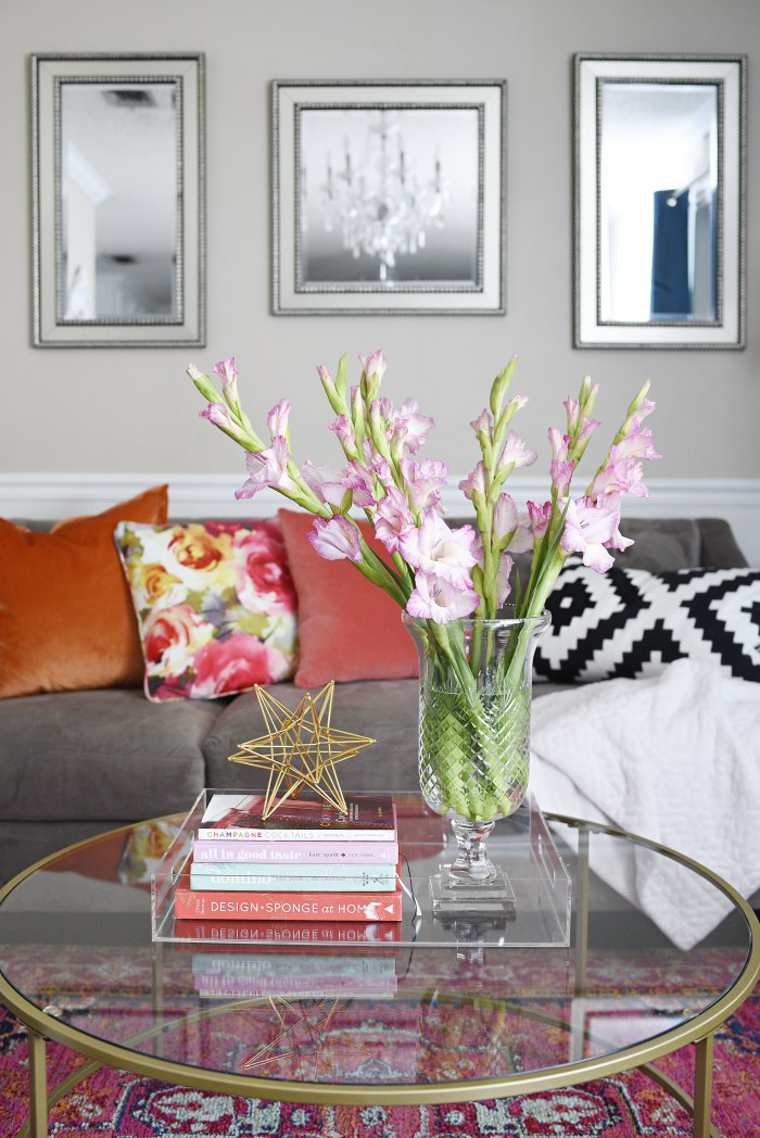 Cut glass pedestal vase + Tips for shopping for home decor at antique and thrift stores. | via monicawantsit.com