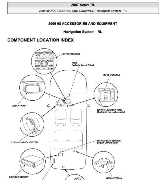 2005 acura rl r l electrical troubleshooting wiring diagrams new
