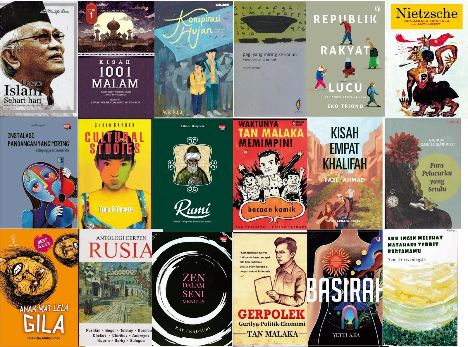 Jualan Buku Sastra: Katalog Sastra Bulan Oktober 2018