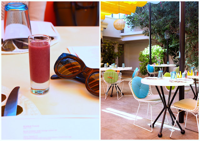 Parker/ Norma's Palm Springs- colourful travel diary, where to eat, what to do,