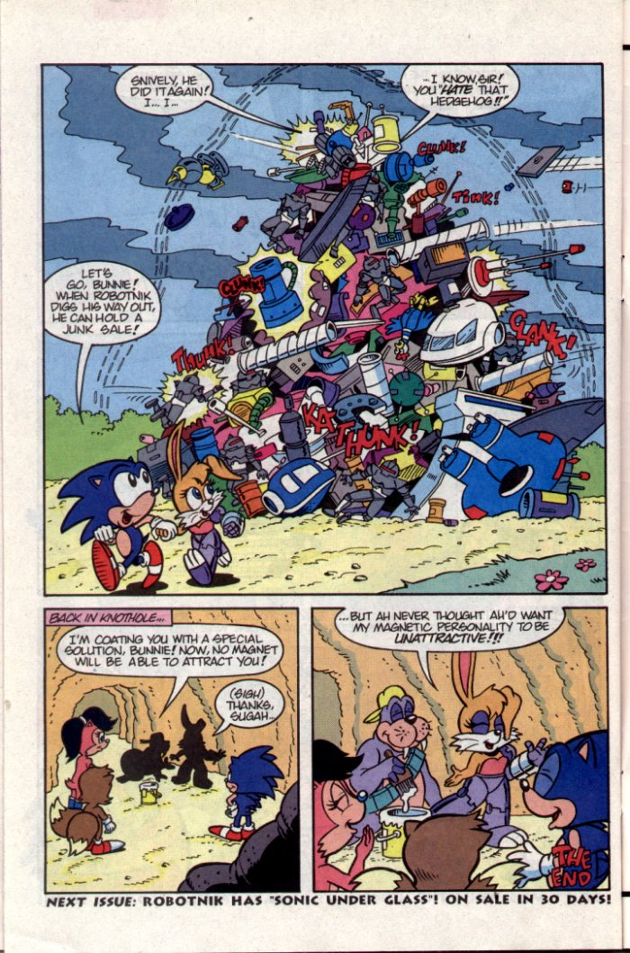 Read online Sonic The Hedgehog comic -  Issue #15 - 26