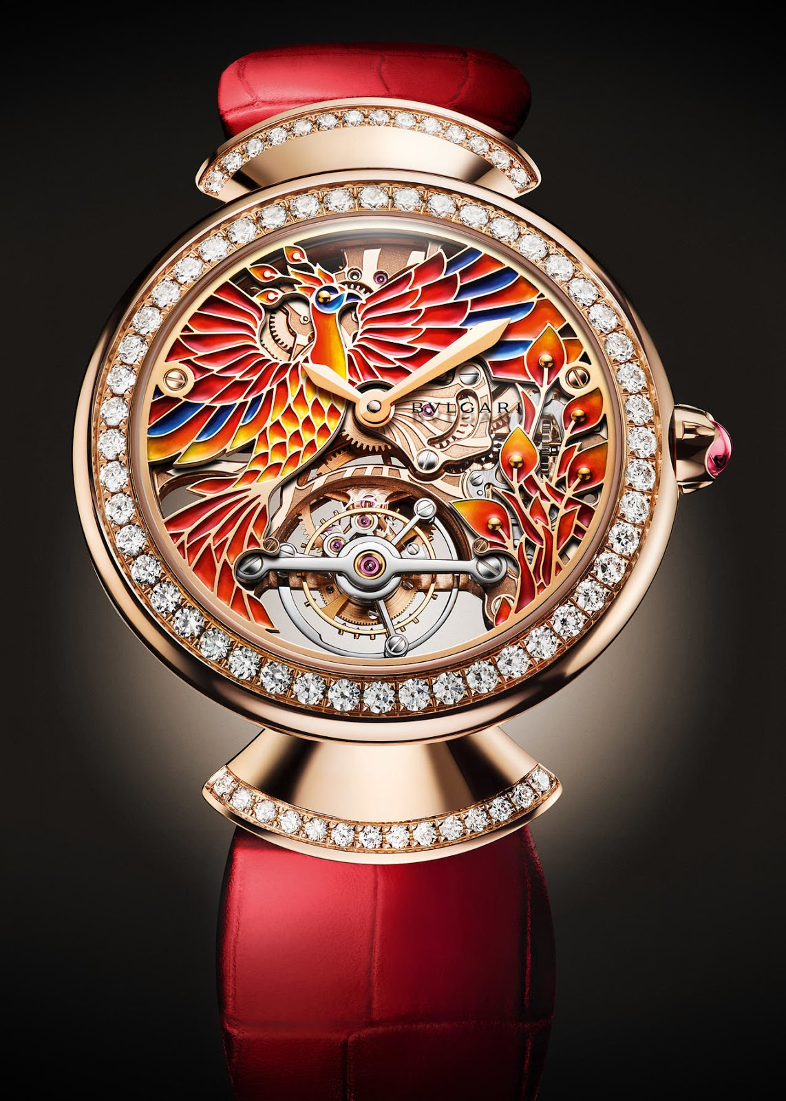 b11038070a6f Une vraie montre de collection   Bulgari DIVAS  DREAMS PHOENIX pour ...