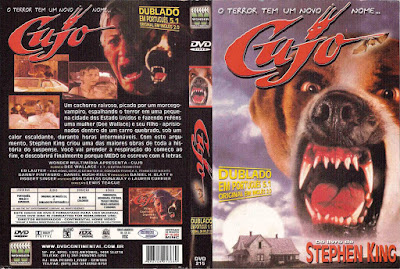 Filme Cujo DVD Capa