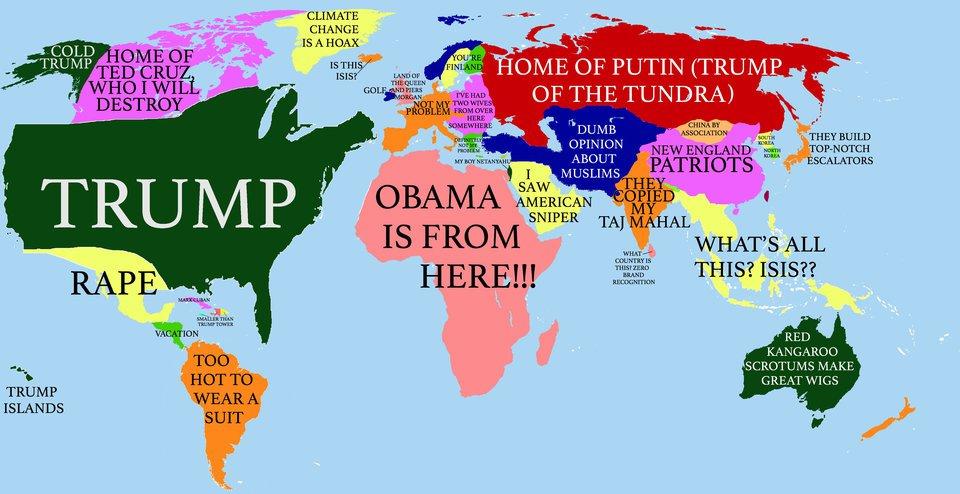 MARK MARTINEZ' BLOG: THE WORLD ACCORDING TO DONALD TRUMP