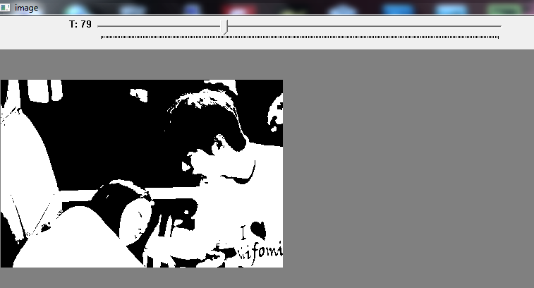 Python opencv : convert RGB to Black and White in Python