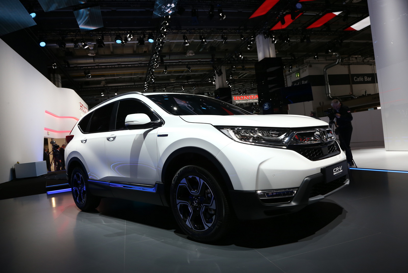 Euro-Spec 2018 Honda CR-V Joins Team Hybrid After Ditching ...