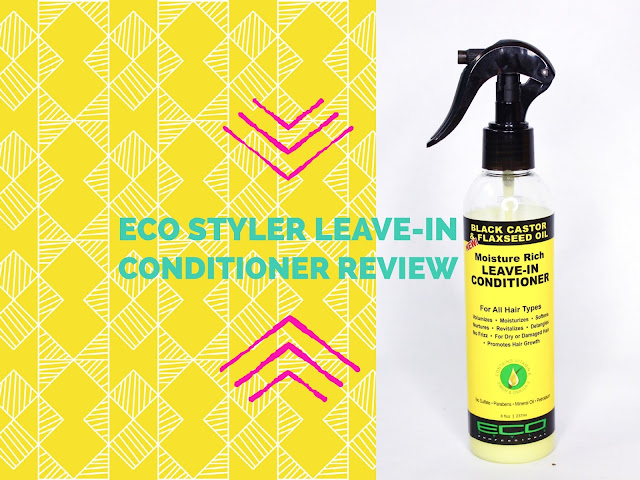 Review: Eco Styler Leave-In Conditioner (Black Castor & Flaxseed Oil)